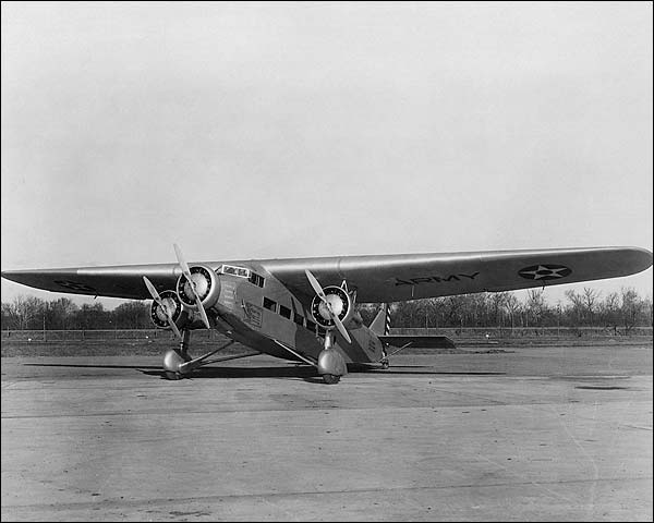Ford Model 5-AT-B / C-4 Trimotor Photo Print for Sale