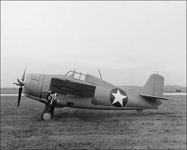 WWII Grumman F4F-3 Wildcat  Photo Print for Sale