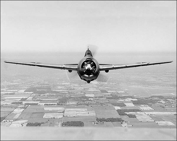 Grumman F4F-3 Wildcat WWII Aircraft Photo Print for Sale