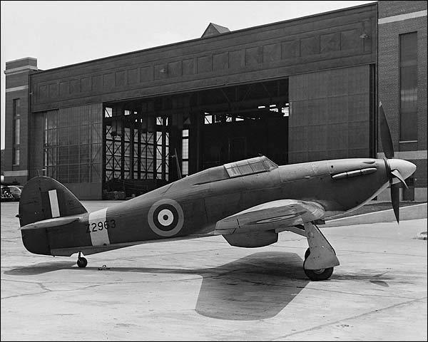 Hawker Hurricane British WWII Aircraft Photo Print for Sale