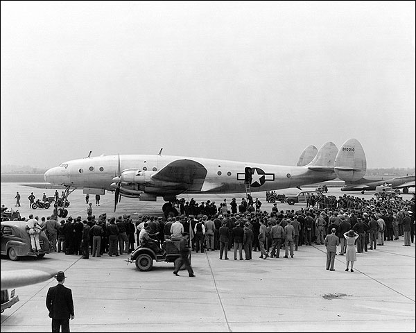 Lockheed C-69 Constellation Aircraft WWII Photo Print for Sale