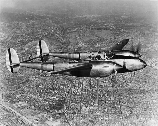 WWII Lockheed P-38 Lightning  Photo Print for Sale
