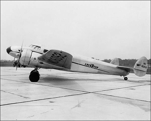 Lockheed Electra Model 12 Aircraft Photo Print for Sale