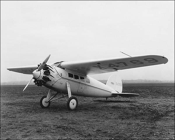 Lockheed Vega Aircraft Yankee Doodle Photo Print for Sale