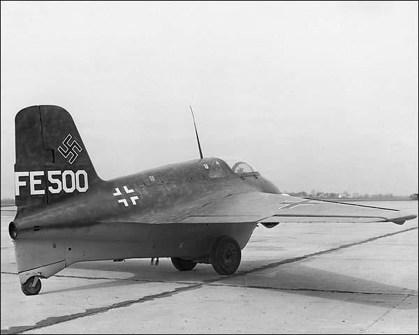 Messerschmitt Me-163 Komet Rocket Plane Photo Print for Sale