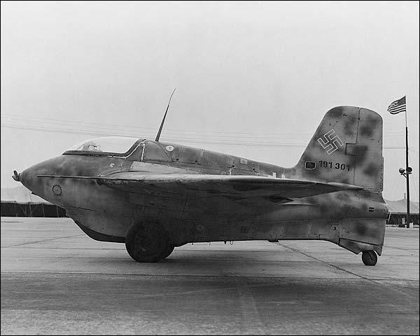 Messerschmitt Me-163 German WWII Rocket   Photo Print for Sale