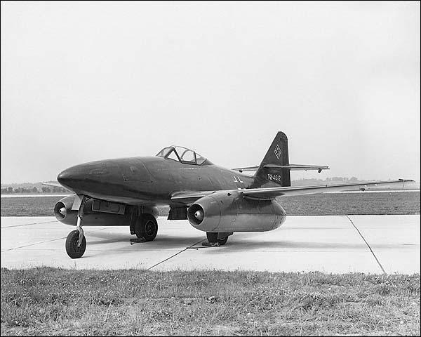 WWII Jet Aircraft Messerschmitt Me-262  Photo Print for Sale