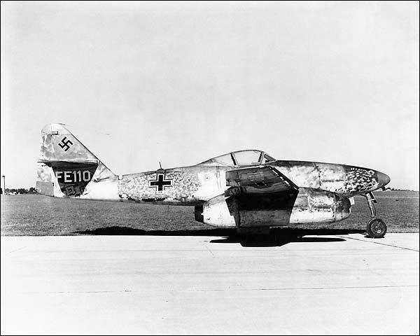 Messerschmitt Me-262 WWII  Photo Print for Sale