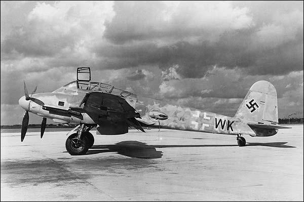Messerschmitt Me-410 WWII Aircraft Photo Print for Sale