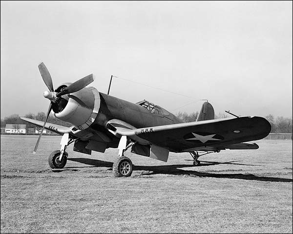 Chance Vought F4U Corsair WWII Plane Photo Print for Sale
