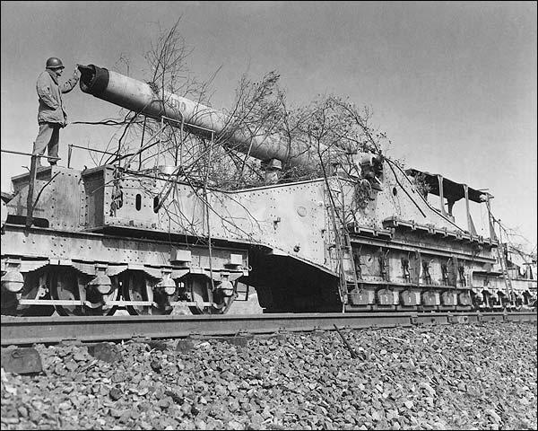 Big Bertha German Howitzer Gun  WWII Photo Print for Sale
