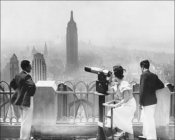 Empire State Building & Manhattan Skyline Photo Print for Sale