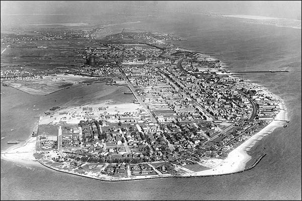 Coney Island, New York City Aerial View NYC Photo Print for Sale