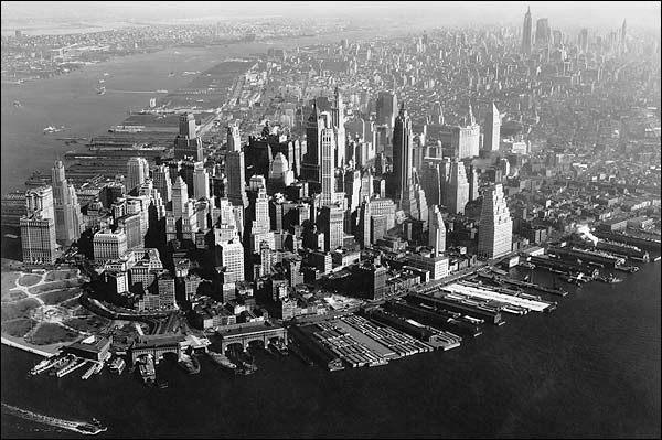Financial District Manhattan, New York City Photo Print for Sale