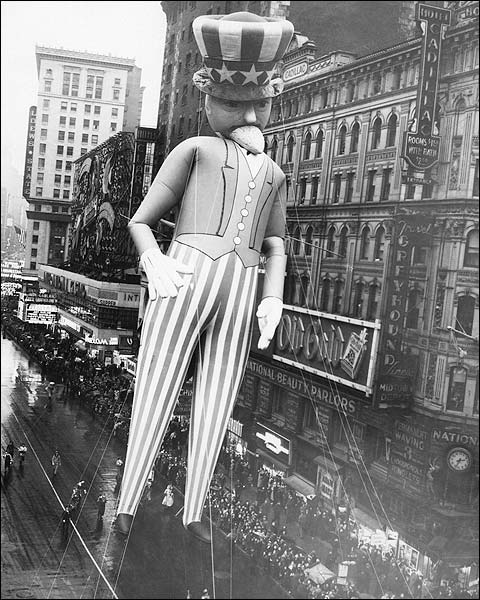 Macy's Thanksgiving Parade Uncle Sam Photo Print for Sale