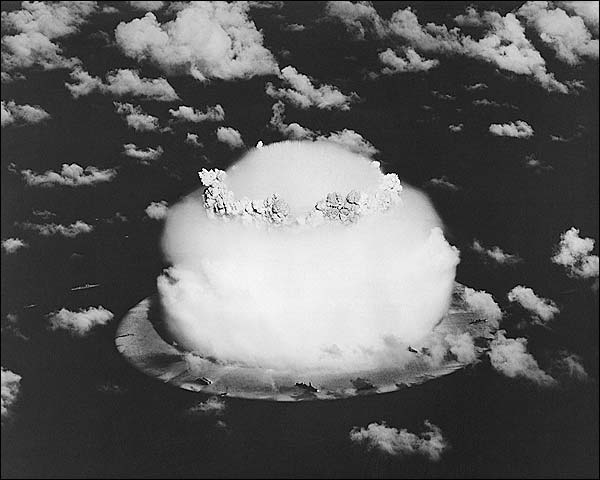 Nuclear Bomb Testing Pacific Cold War 1958 Photo Print for Sale