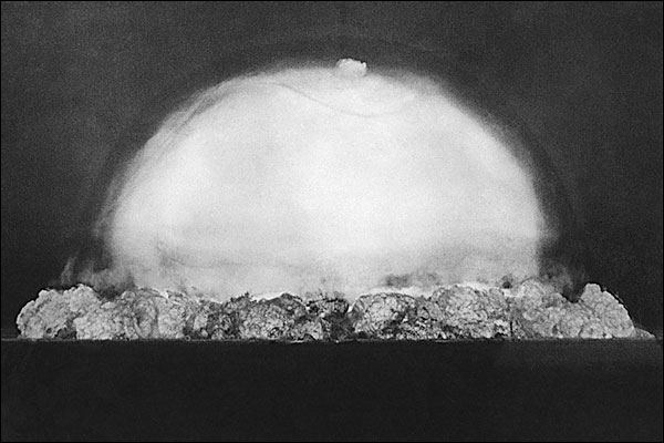 Trinity Test 1st Atomic Bomb Explosion Photo Print for Sale