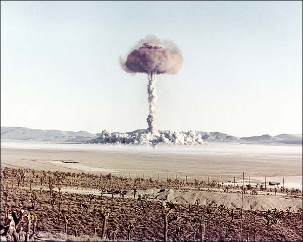 Atomic Bomb Mushroom Cloud 'Charlie' Photo Print for Sale