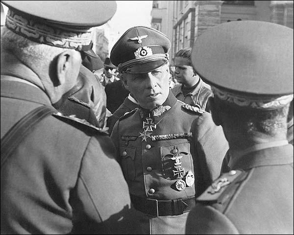 German Field Marshal Erwin Rommel WWII Photo Print for Sale