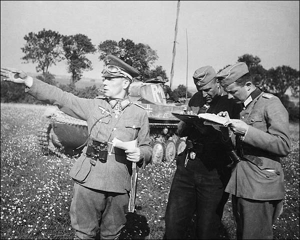 German General Erwin Rommel WWII Photo Print for Sale