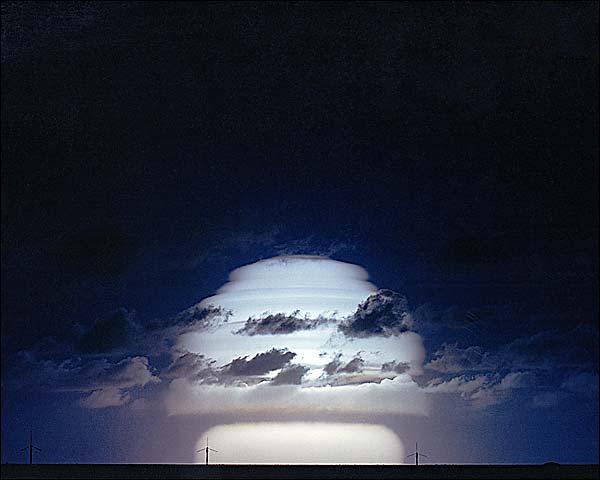 Atomic Bomb Test 'Sunset' Mushroom Cloud Photo Print for Sale
