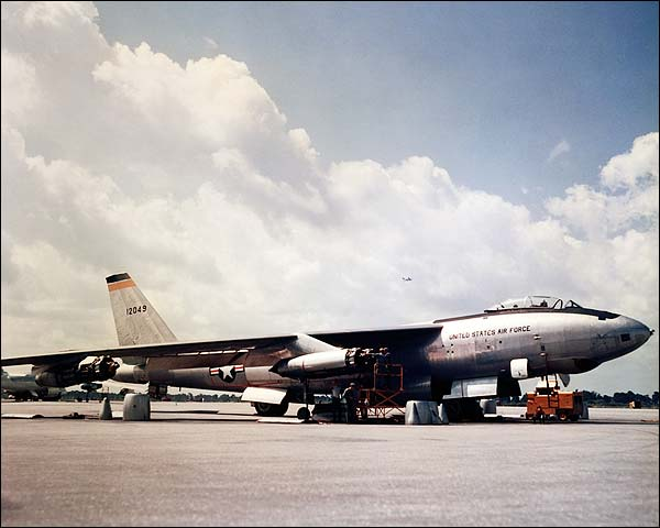 B-47 Stratojet Atomic Bomber Maintenance Photo Print for Sale