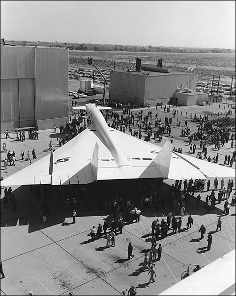 XB-70 / XB-70A Valkyrie Rollout Photo Print for Sale