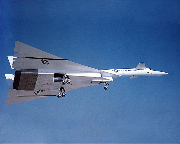 XB-70 / XB-70A Valkyrie on Approach Photo Print for Sale