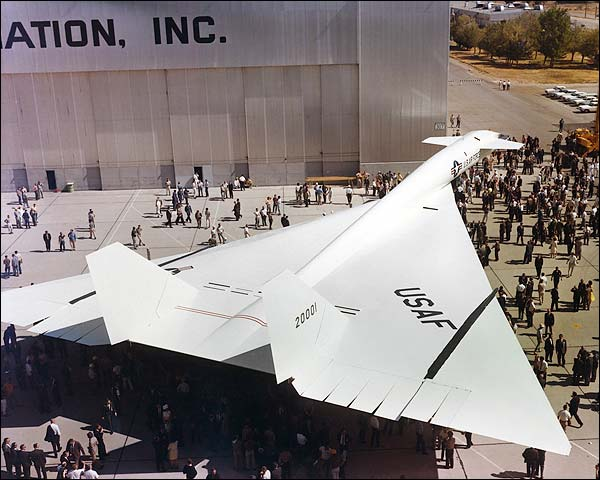 XB-70 / XB-70A Valkyrie Aircraft Rollout Photo Print for Sale