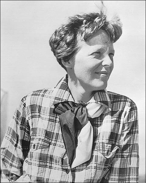 Aviator Amelia Earhart Candid Portrait Photo Print for Sale