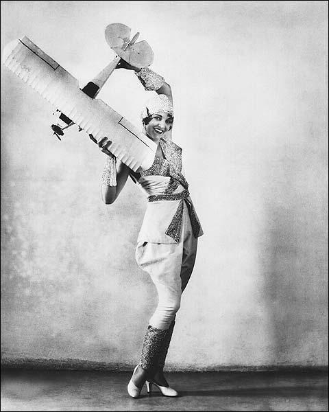 Kathryn Crawford Universal Actress w/ Plane Photo Print for Sale