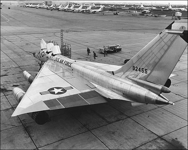 Convair B-58 Hustler Being Serviced Photo Print for Sale