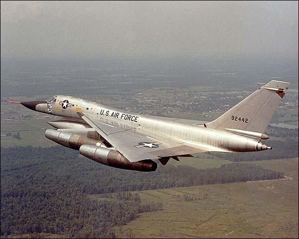 Convair B-58 Hustler in Flight Photo Print for Sale