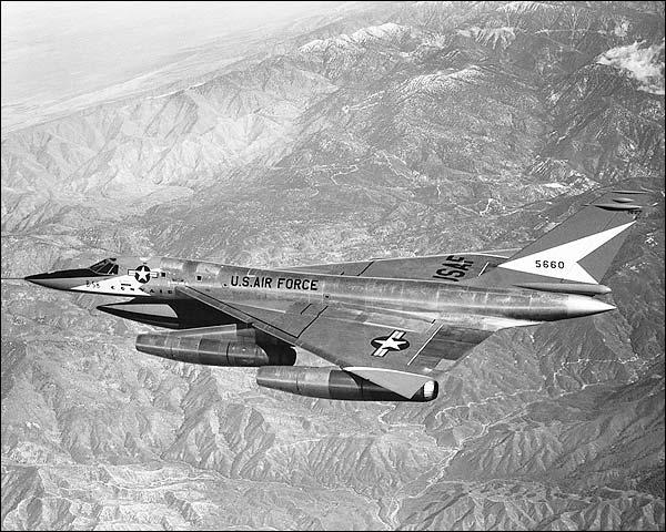 Flying Convair B-58 Hustler Photo Print for Sale