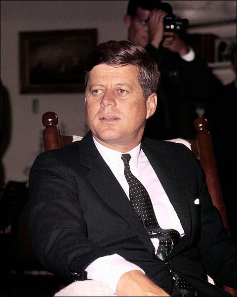 President John F. Kennedy JFK Candid Photo Print for Sale