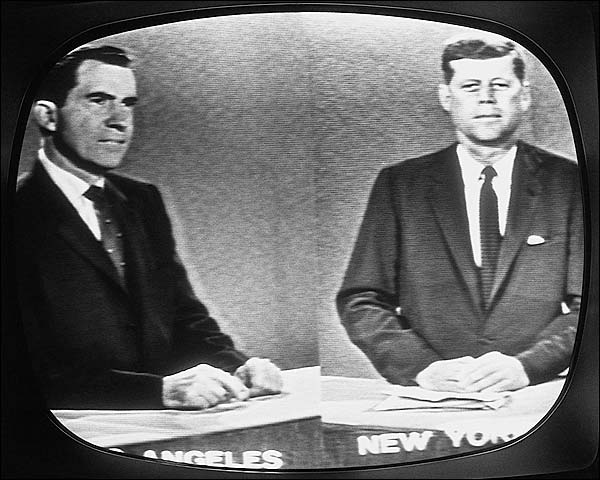 Kennedy-Nixon Televised Presidential Debate Photo Print for Sale