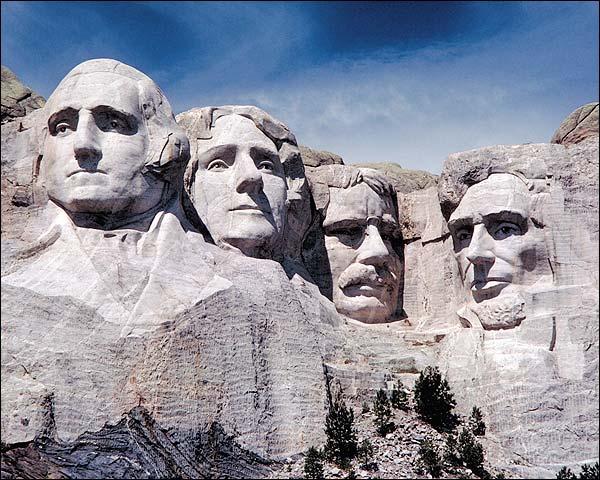 Mount Rushmore Memorial, South Dakota Photo Print for Sale