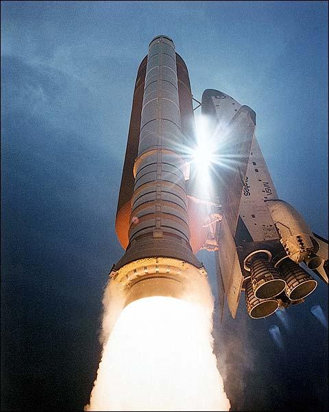 STS-43 Space Shuttle Atlantis Launch 1991 Photo Print for Sale