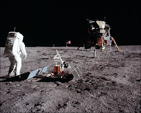 Apollo 11 Buzz Aldrin Tranquility Base Photo Print for Sale