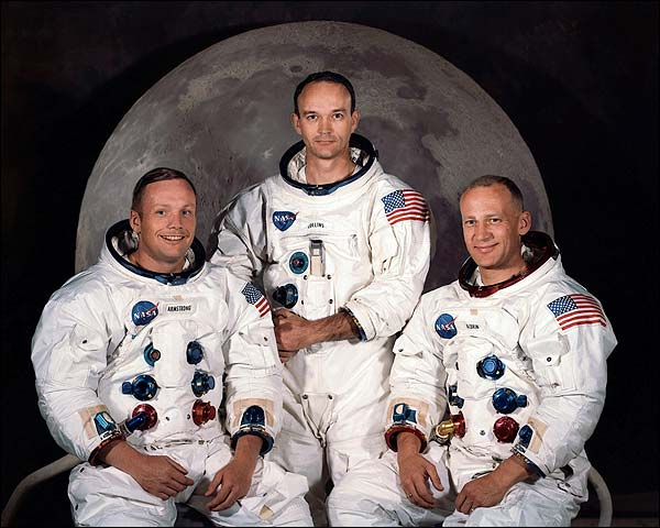Apollo 11 Moon Landing Crew Photo Print for Sale