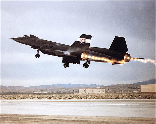 SR-71 Blackbird Afterburner Takeoff Photo Print for Sale
