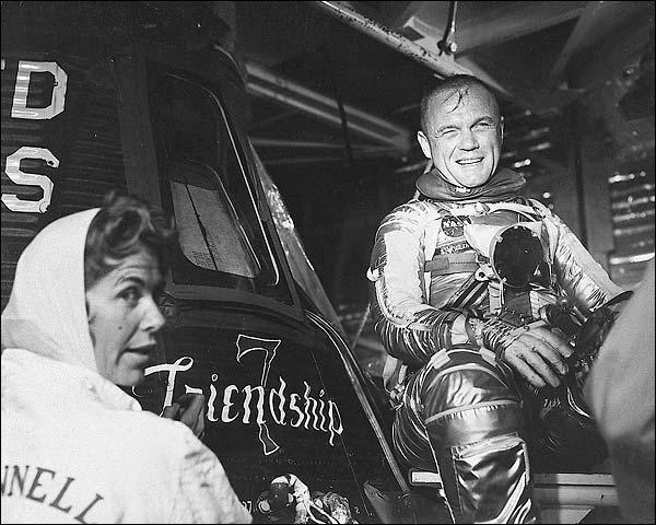 Astronaut John Glenn Friendship 7 Photo Print for Sale