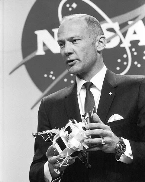 Apollo 11 Buzz Aldrin Lunar Lander Model Photo Print for Sale