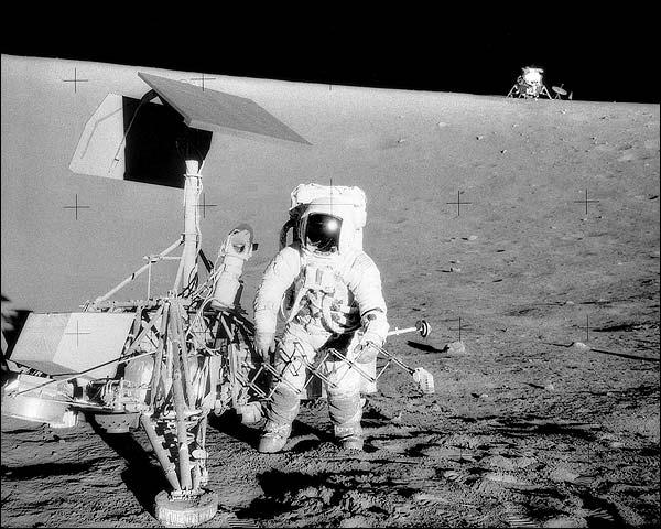 Apollo 12 Charles Pete Conrad Photo Print for Sale