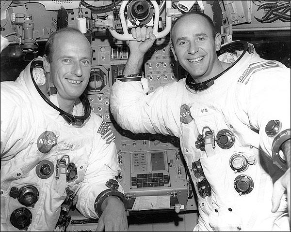 Conrad and Bean Simulator Apollo 12 Photo Print for Sale