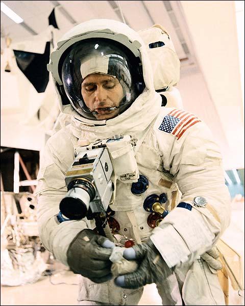 Apollo 12 Alan Bean Training Photo Print for Sale