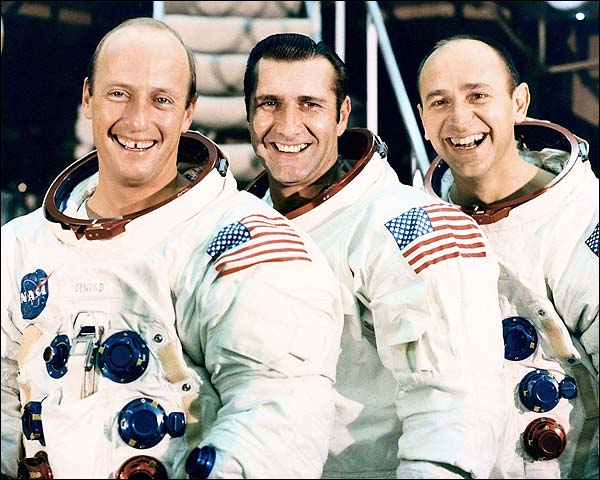 Apollo 12 Crew Posing Photo Print for Sale