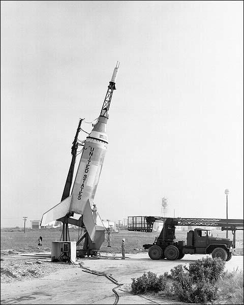 Mercury Test Little Joe Rocket Photo Print for Sale
