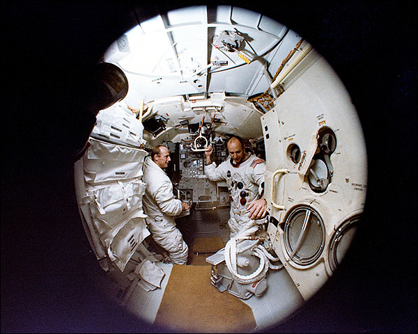 Apollo 12 Bean Conrad Simulator Photo Print for Sale