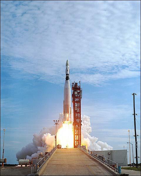 Mercury Atlas Agena Liftoff Photo Print for Sale